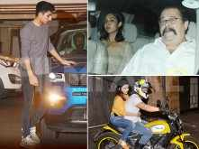 Ibrahim Ali Khan clicked post a family gathering at Saif Ali Khan's home