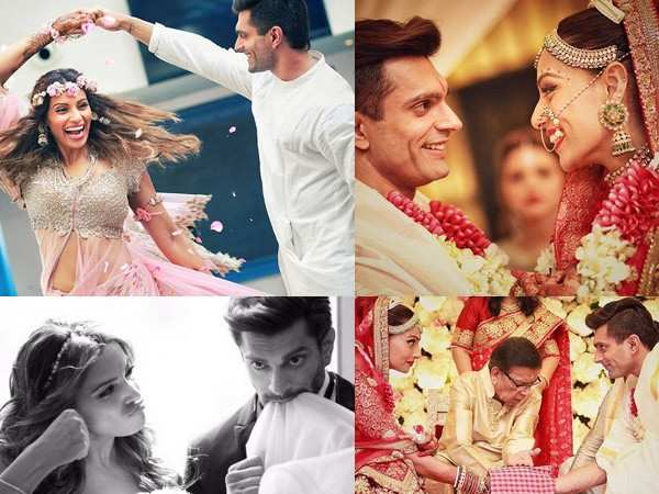Most romantic pictures from Karan Singh Grover and Bipasha Basu's wedding