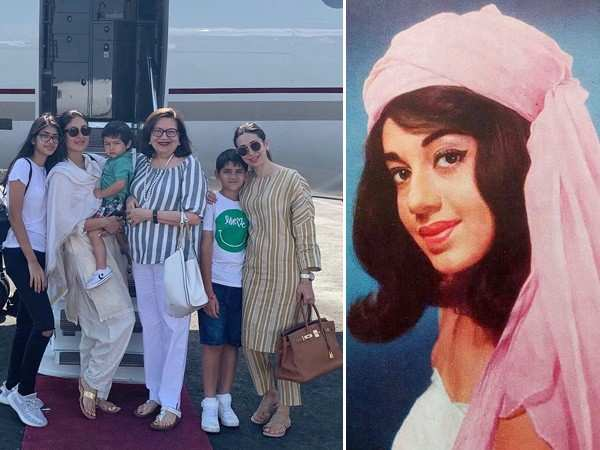 Check out Karisma Kapoor's heartfelt post on Babita Kapoor's birthday