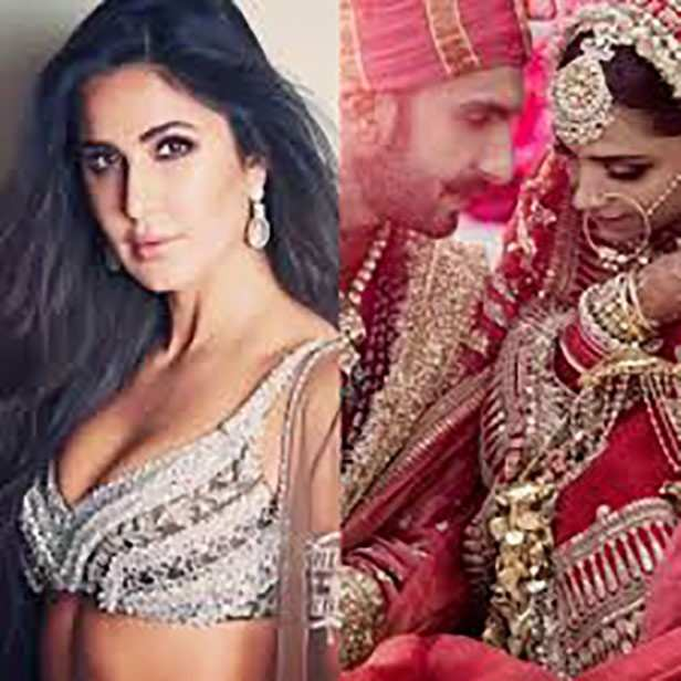 Katrina Kaif opens up about her equation with Ranveer Singh and Deepika Padukone