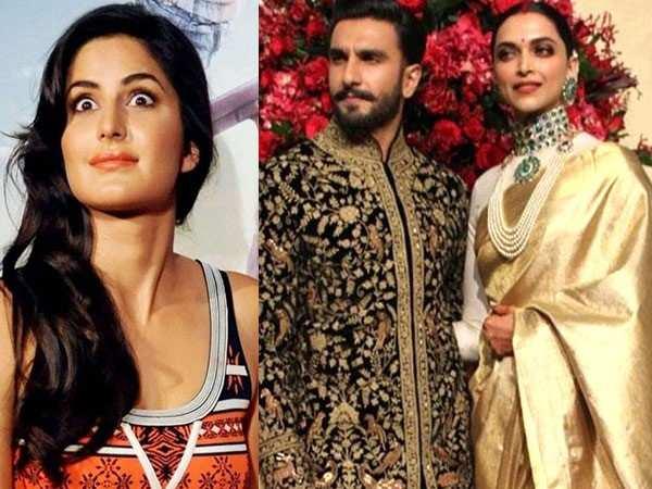 Katrina Kaif reveals her equation with Ranveer Singh and Deepika Padukone