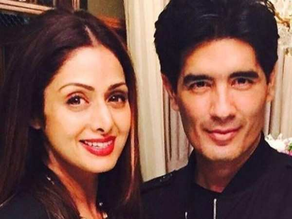 Manish Malhotra talks about how he missed Sridevi while shooting for Kalank