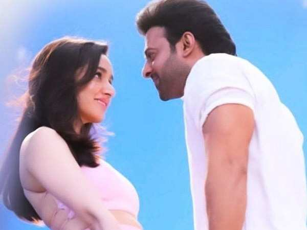 Shraddha Kapoor & Prabhas look all things romantic in this still from Saaho