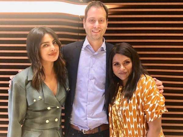 Priyanka Chopra and Mindy Kaling to team up for a wedding comedy