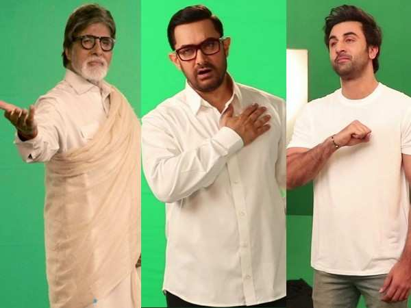 Amitabh Bachchan, Aamir Khan & Ranbir Kapoor collaborate for the first time