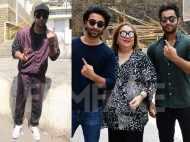 Ranbir Kapoor, Armaan Jain, Aadar Jain step out to vote