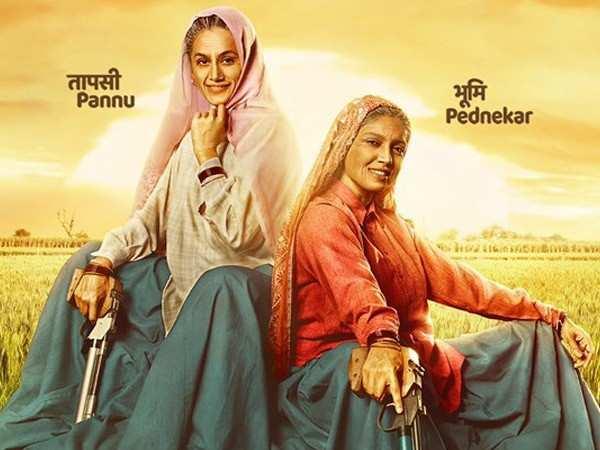Taapsee Pannu and Bhumi Pednekar wrap-up Saand Ki Aankh