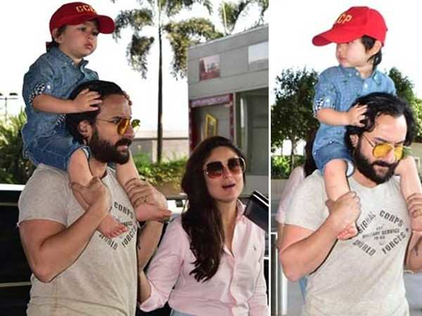 Saif Ali Khan blasts the paparazzi for clicking picture of Taimur Ali Khan