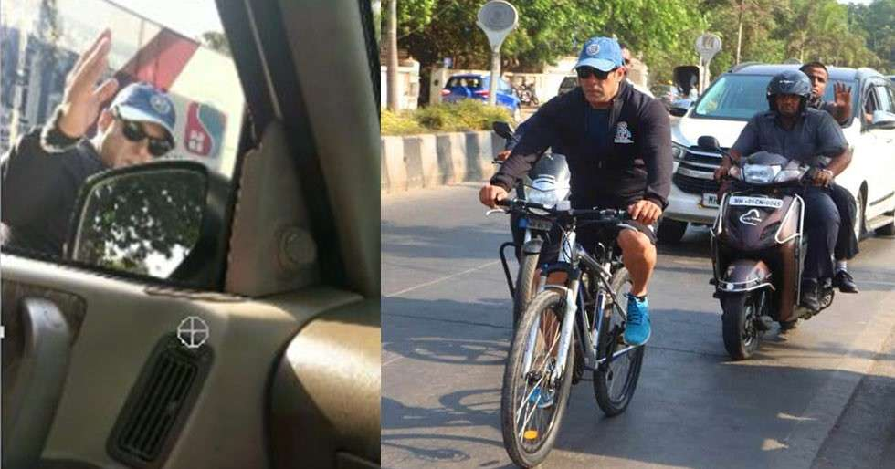 Image result for police case against salman khan cycling