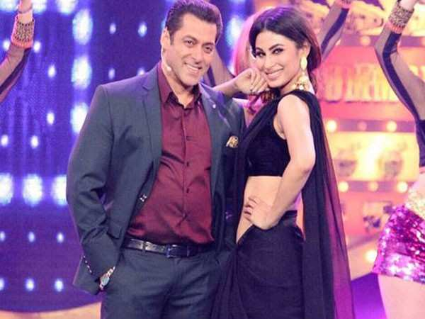 Is Salman Khan keen on roping in Mouni Roy for a song in Dabangg 3?