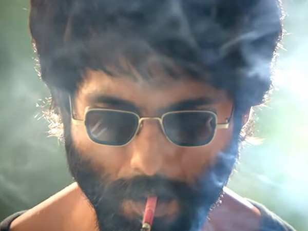 Shahid Kapoor reveals he would smoke 20 cigarettes a day for Kabir Singh