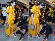 Aww! Anand Ahuja ties wife Sonam Kapoor Ahuja's shoelace and wins the internet