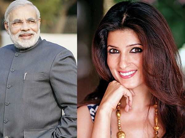 Twinkle Khanna has an epic reply to PM Narendra Modi's 'gussa' poke