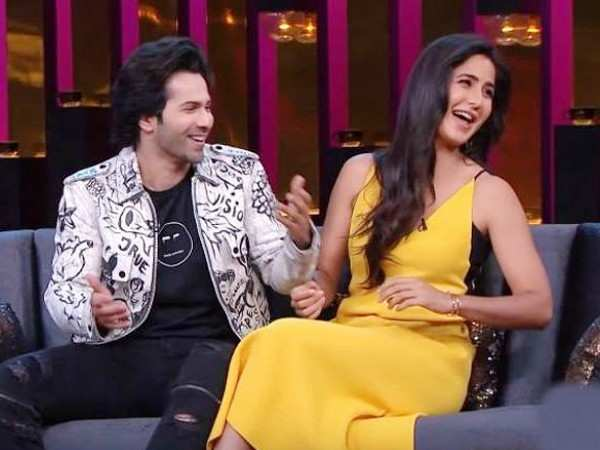 """Katrina is more interesting on social media than real life.""–Varun Dhawan"