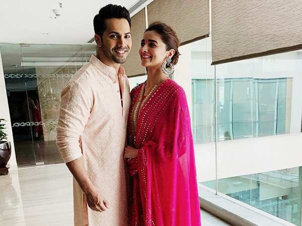Alia Bhatt and Varun Dhawan promote Kalank in Jaipur