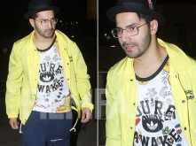Varun Dhawan leaves for Thailand to celebrate his birthday