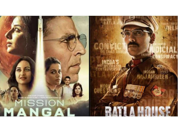 Mission Mangal and Batla House continue their dominance at the box-office