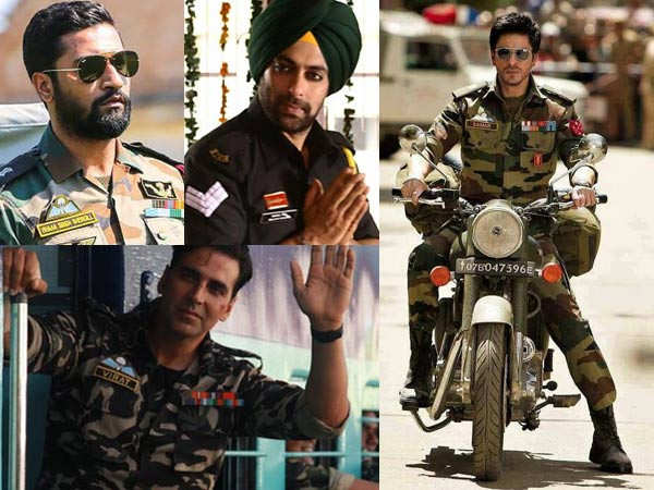 Actors who aced playing an Army officer on the big screen