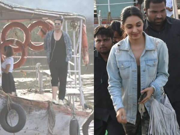 Photos: Akshay Kumar and Kiara Advani shoot for Laxmmi Bomb in Mumbai