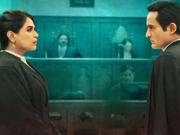 First look of Akshaye Khanna and Richa Chadha's Section 375 out now