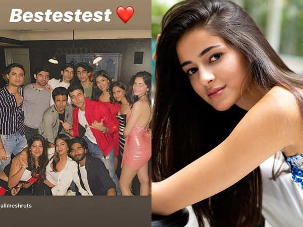 Ananya Panday and Aryan Khan get their party mode on