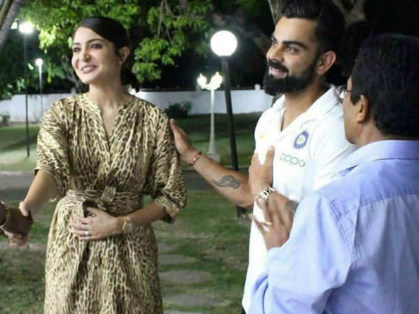 Pictures: Anushka Sharma accompanies Virat Kohli to Jamaica