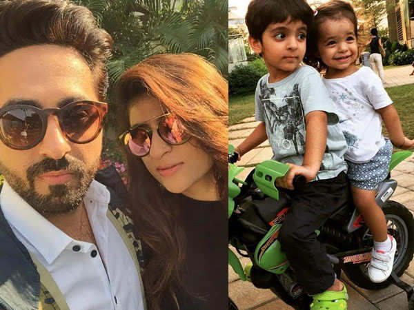 Ayushmann Khurrana takes off for a much deserved break