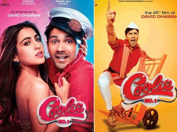 Coolie No. 1: Varun Dhawan and Sara Ali Khan reveal their first official look