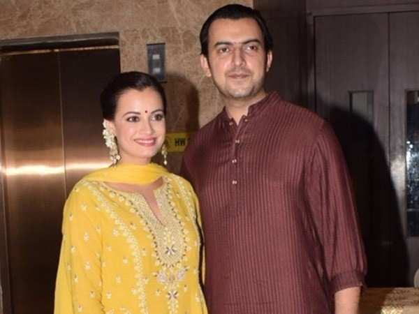 Breaking: Dia Mirza and Sahil Sangha announce their separation