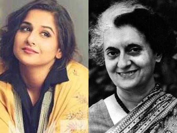 Vidya Balan talks about playing former PM Indira Gandhi on screen