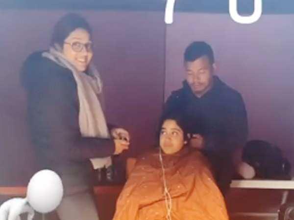 Janhvi Kapoor kick-starts shooting for Kargil Girl in Georgia