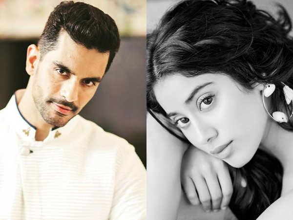 Janhvi Kapoor and Angad Bedi bond well on the sets of Kargil Girl