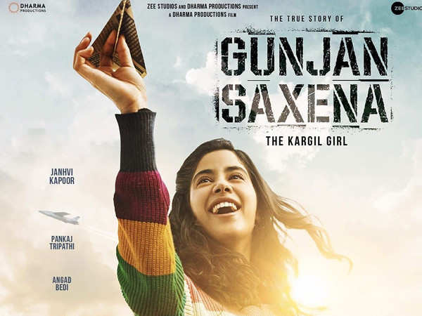 First Look! Janhvi Kapoor kills it in the posters of The Kargil Girl