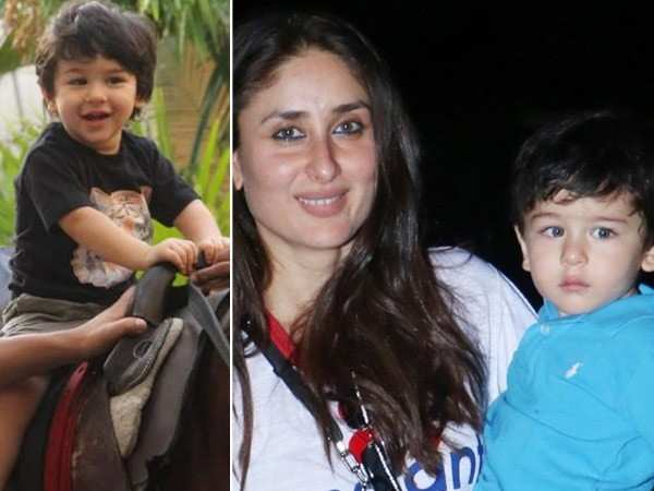 Kareena Kapoor Khan shares pictures of baby Taimur taking horse riding lessons