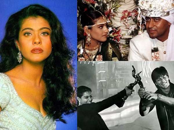 Photos of birthday star Kajol from her initial days in Bollywood
