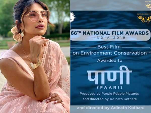 Priyanka Chopra pens down an emotional letter after Paani's win at the National Awards