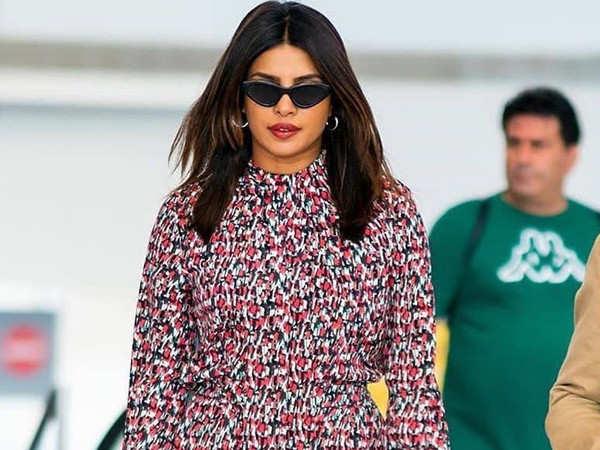 Priyanka Chopra sports a printed jumpsuit as she steps out in New York