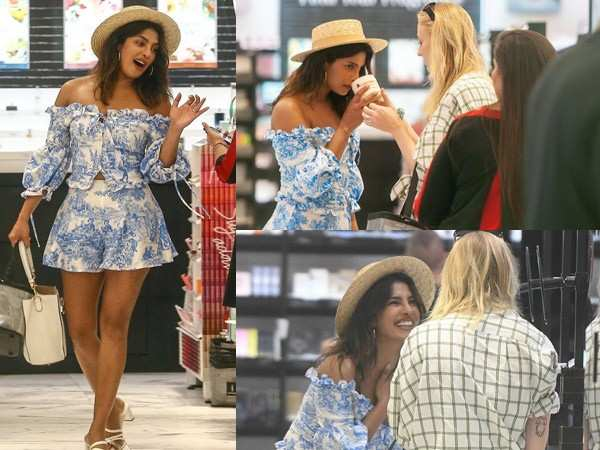 Photos: Priyanka Chopra goes on a shopping spree with Sophie Turner
