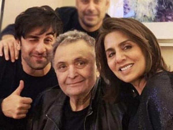 Rishi Kapoor all set to return to India