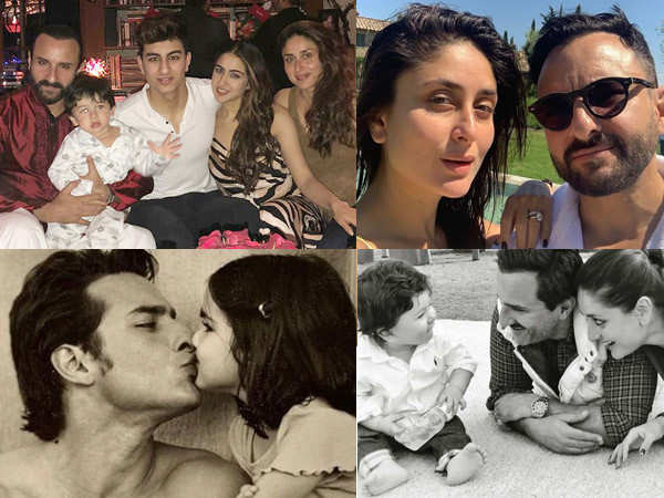 Happy Birthday Saif Ali Khan: Check out actor's 20 cutest family pictures