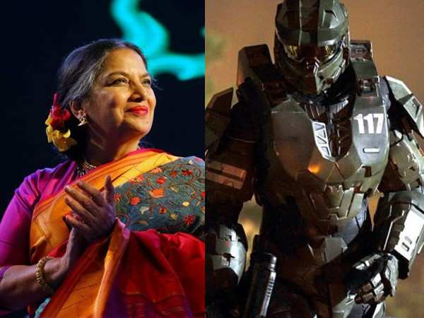 Shabana Azmi to star in a Steven Spielberg's Halo series