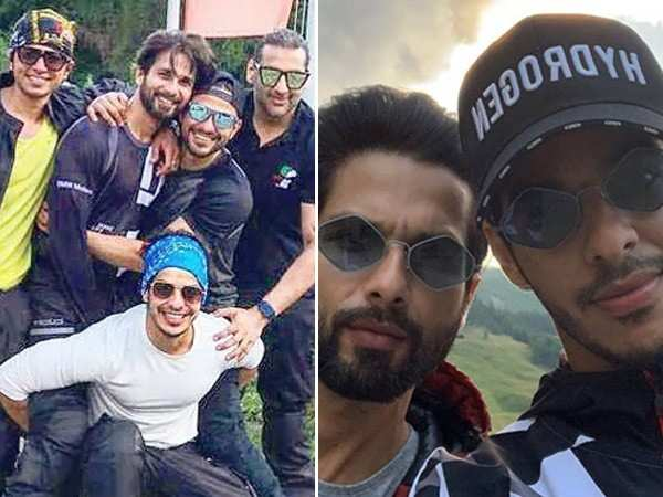 Pictures: Shahid Kapoor, Kunal Kemmu and Ishaan Khatter head out for a road trip