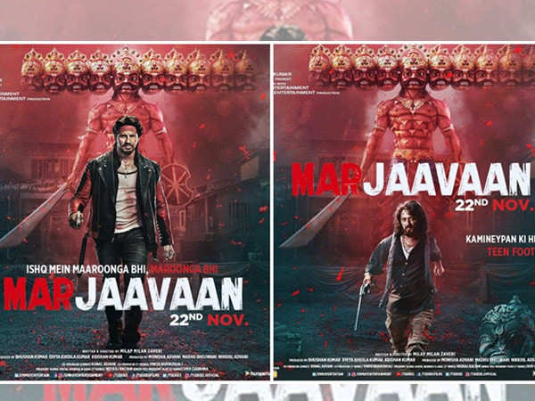 Sidharth Malhotra's Marjaavaan to release on this date