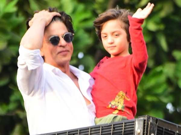 This video of Shah Rukh Khan and AbRam Khan is too good to miss
