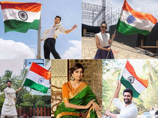Bollywood stars send out special wishes on 73rd Independence Day