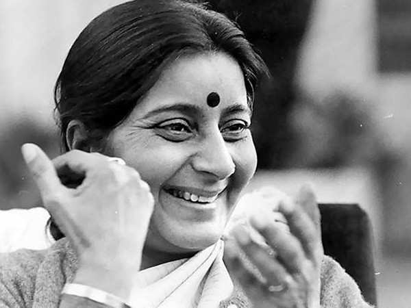 Bollywood stars mourn the death of Sushma Swaraj