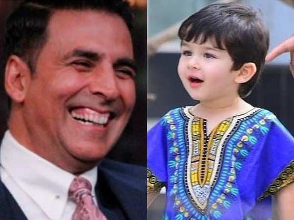Akshay Kumar feels Taimur Ali Khan is the Khan who'll rule Bollywood