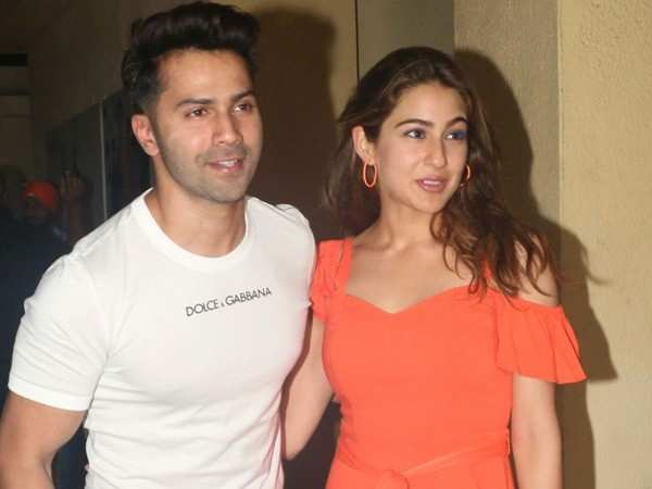 Varun Dhawan's mom gives the mahurat clap for Coolie No 1