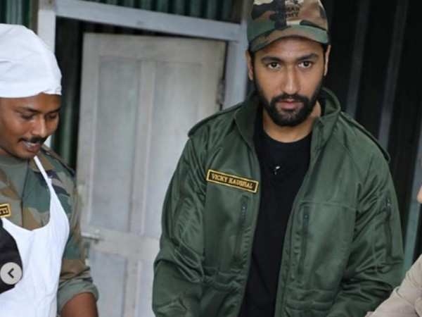 Don't miss! Vicky Kaushal turns cook for Indian Army soldiers in Arunachal Pradesh