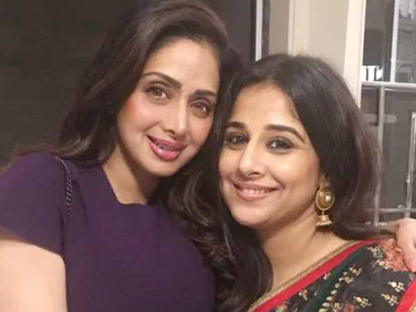 Vidya Balan says Sridevi was the reason she did a cameo in Nerkonda Paarvai